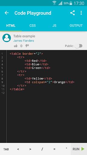 Learn HTML 5.5.2 screenshots 4