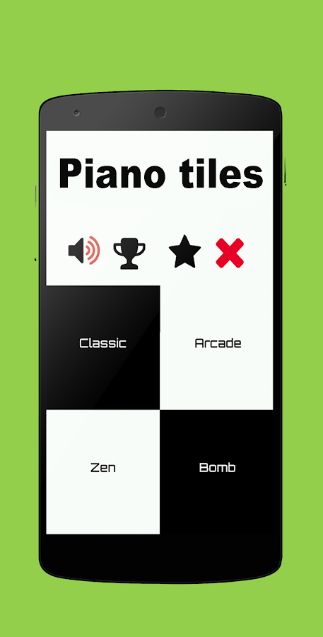 Piano Tiles 1 neew- screenshot