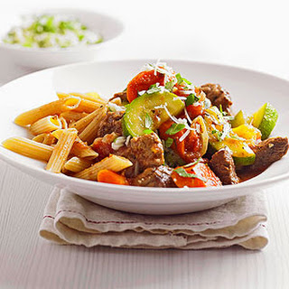 Mediterranean Beef with Pasta