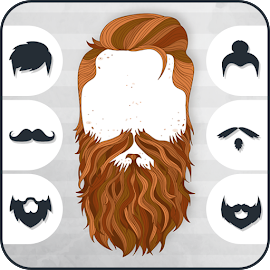 Man Hair Styles Mustache Beard Photo Editor