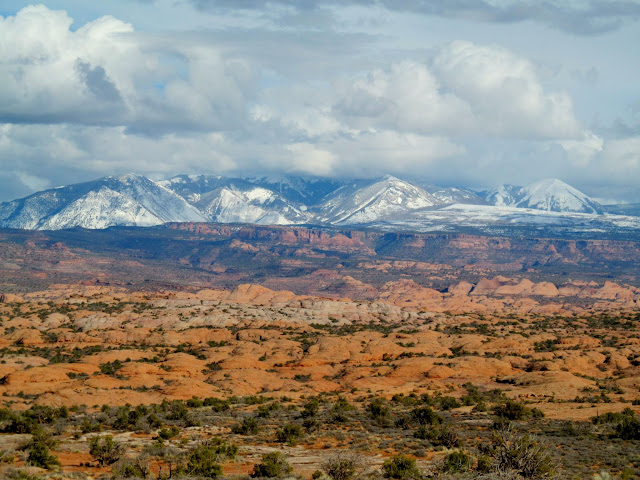 La Sal Mountains Viewpoint