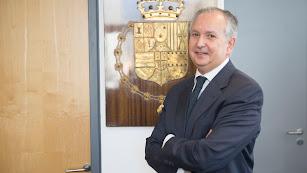 Luis Miguel Columna Herrera, magistrado elegido nuevo presidente de la Audiencia Provincial de Almería