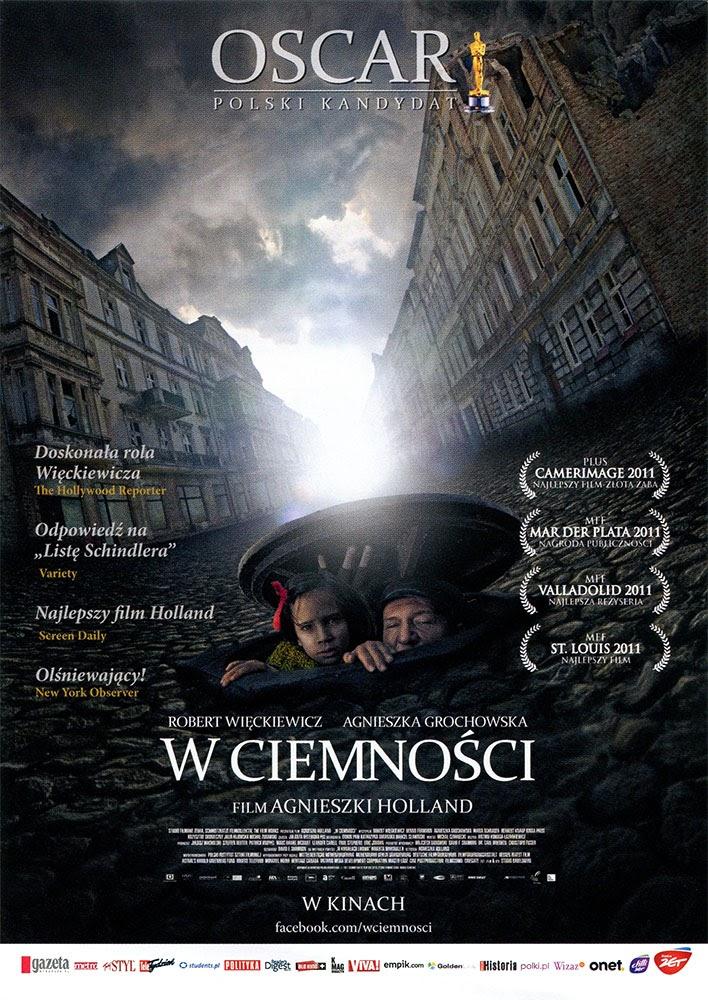 Ulotka filmu 'W Ciemności (przód)'