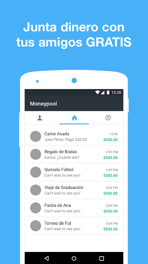 Moneypool- screenshot