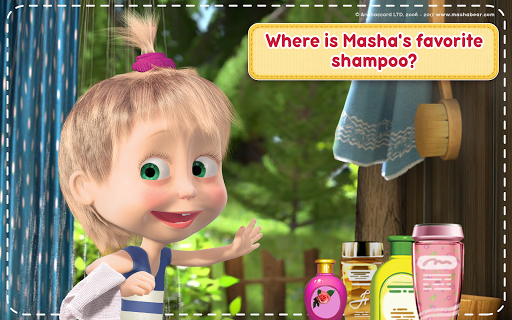 Masha and the Bear: House Cleaning Games for Girls  screenshots 12