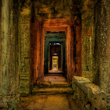 Photo: The Secret Passageway to the Treasure  After the crowds of Angkor Wat, it was nice to go find a remote temple in the jungle and be alone. This temple laid under the jungle, completely undiscovered for centuries.  The hallway and mysterious chambers seemed to go on forever.  from Trey Ratcliff at stuckincustoms.com