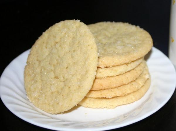 Giant Lemon Sugar Cookies Recipe