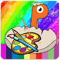 Dinosaur Coloring Book for Kid icon