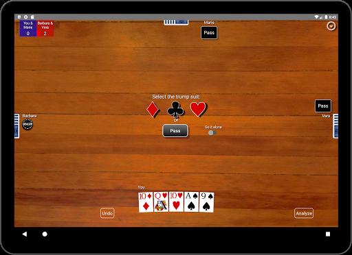 Euchre Card Classic 1.1 screenshots 11