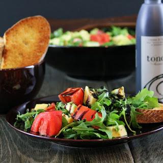 Tomato Avocado and Arugula Salad