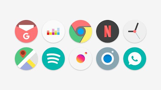 Flat Pie – Icon Pack 4.3 (MOD + APK) Download 1