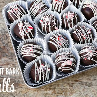 OREO Peppermint Bark Cookie Balls