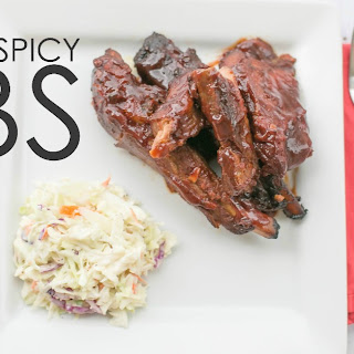 Sweet and Spicy Ribs.