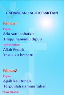 Lirik & chord Lagu pujian dan penyembahan - náhled