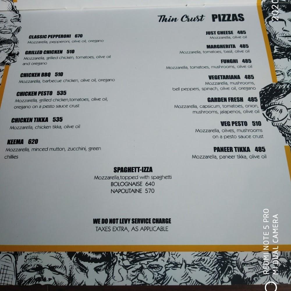 Pebble Street menu 7