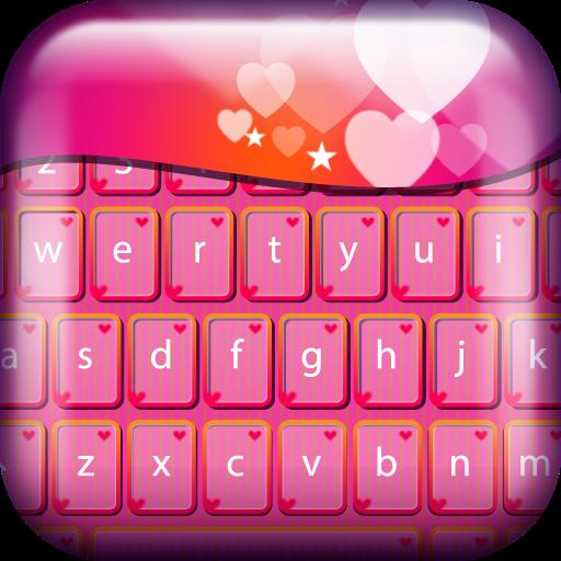 Hearts Keyboard Themes