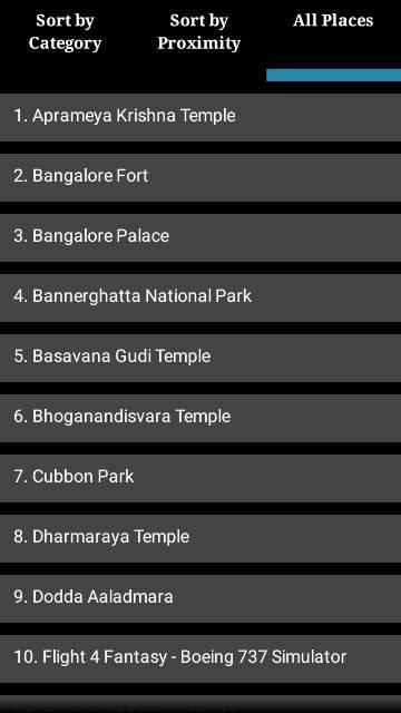 Tour Bangalore- screenshot