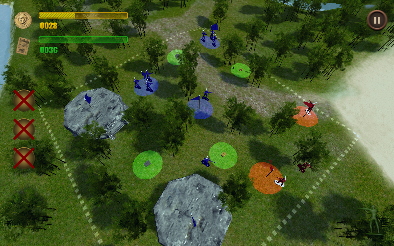 Toy Soldiers: V2- screenshot