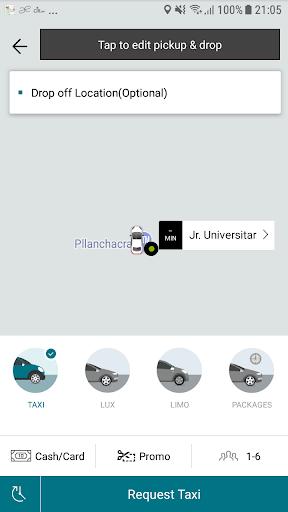 CIR APP de Taxi screenshot 1