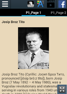 Biography of Josip Broz Tito - náhled