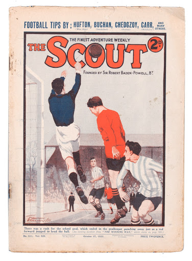 The Scout comic, 1923
