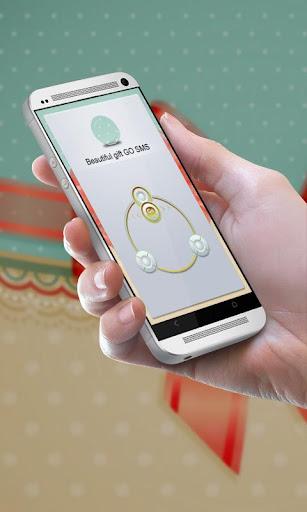 美しい贈り物 GO SMS