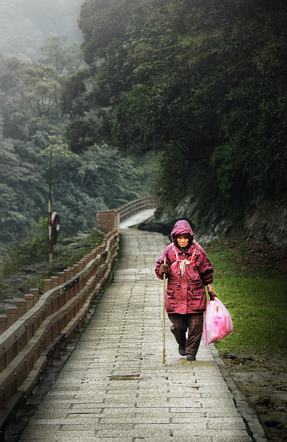 Long winding Route by Jackie Tan Lye Hock - People Street & Candids