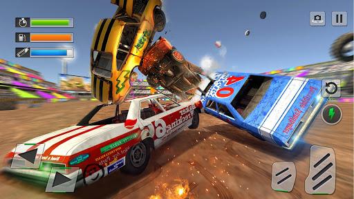 Derby Car Crash Stunts Demolition Derby Games apkpoly screenshots 1