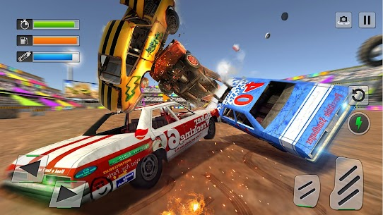 Derby Car Crash Stunts Demolition Derby Games 2.4 Mod + APK + Data UPDATED 1