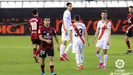 El Rayo Vallecano no pudo con el Mirandés y se queda sexto.