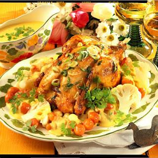 Lemon Chicken with Cauliflower.