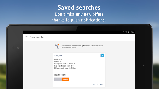 AutoScout24 - used car finder - screenshot thumbnail