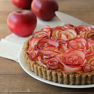 Apple Walnut Tart with Maple Custard Recipe