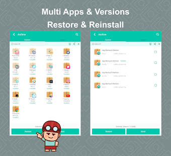 App Backup Restore - Transfer- screenshot thumbnail