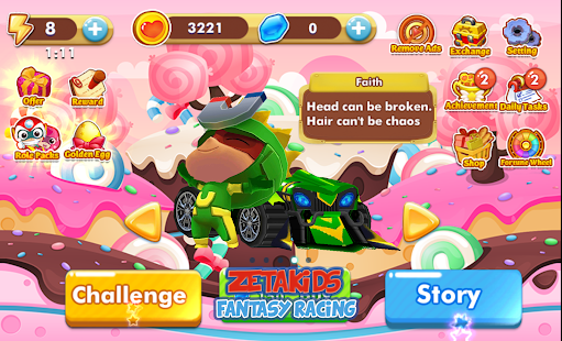 ZetaKids - Fantasy Racing Adventure | Robot Fun 3D for PC-Windows 7,8,10 and Mac apk screenshot 2