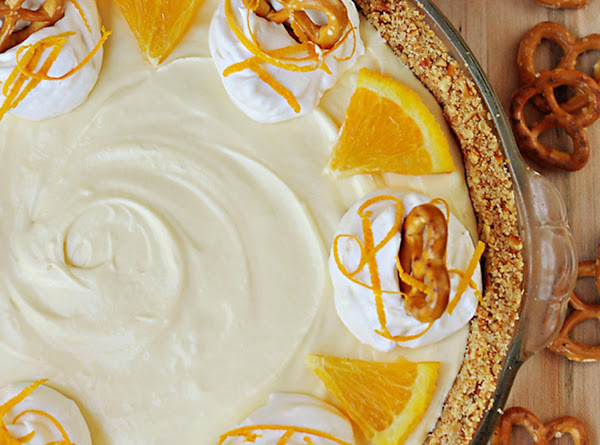 Frozen Orange Creamsicle Pie Recipe