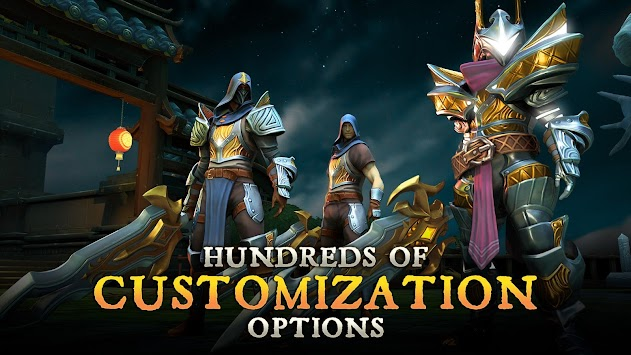 Dungeon Hunter 5 apk screenshot