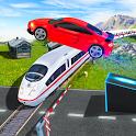 Marvelous Highway Car Stunts - Ramp Car Stunt Race icon