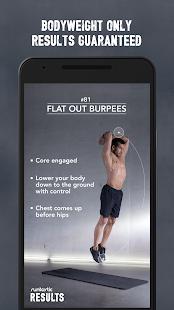 Runtastic Results Training App Screenshot 4
