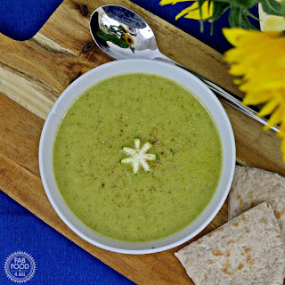 Caramelised Courgette Soup