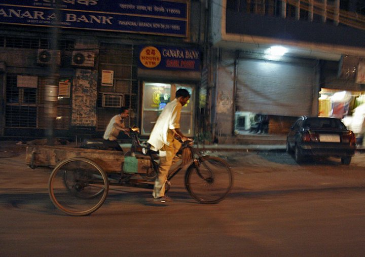 Night street in new delhi di Mahone
