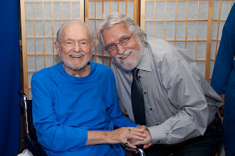 Photo: Photo by Barbara. With Neal Donald Walsch at Ford Theater.