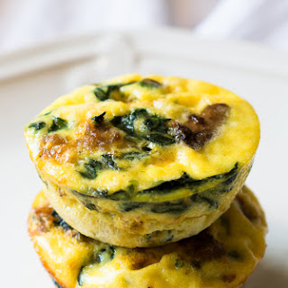 Crustless Mini Quiches.