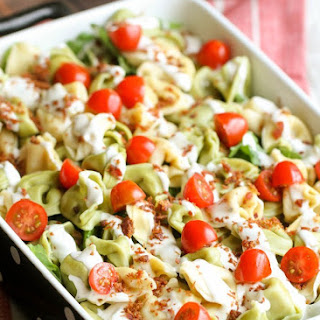 Cheese Tortellini Salad With Ranch Dressing Recipes