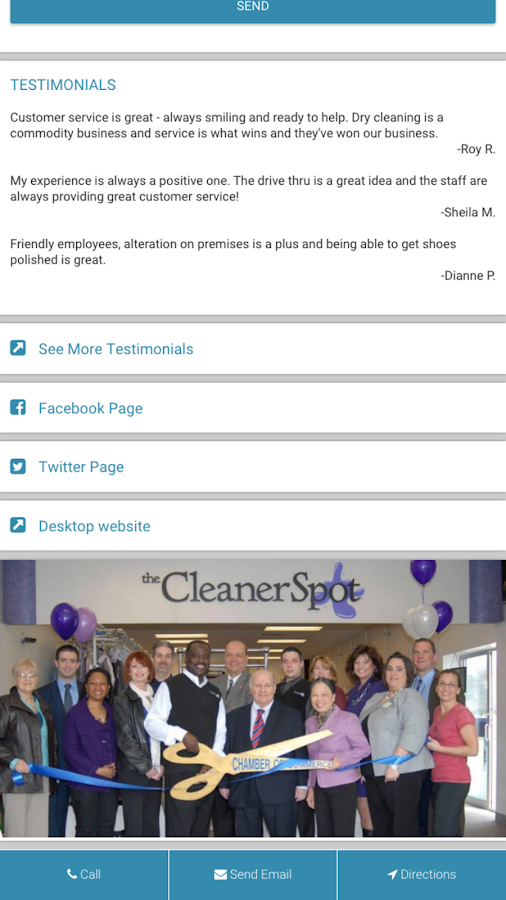 The Cleaner Spot- screenshot