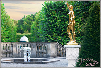 Photo: Evening in the most beautiful baroque garden in northern Germany.