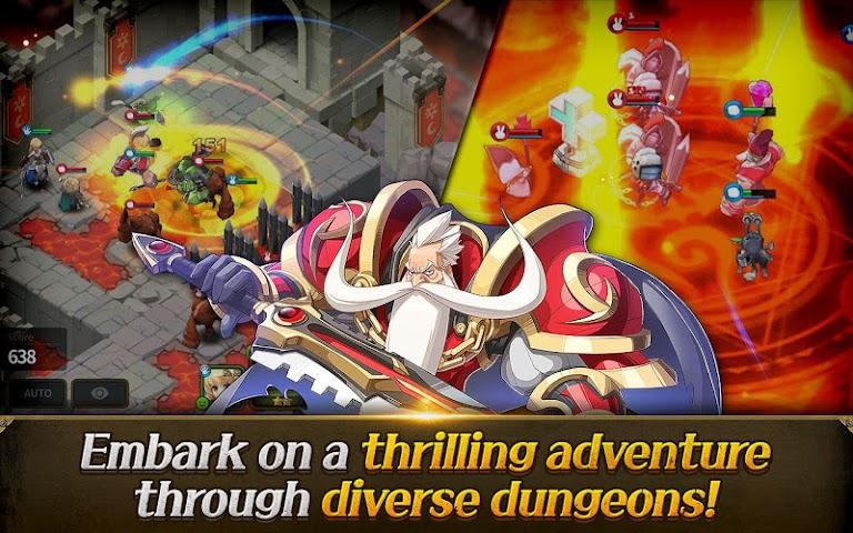 android Fantasy War Tactics Screenshot 9