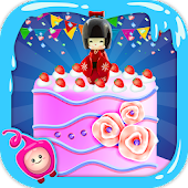Japanese Doll Cake Maker – Cake Cooking Games 2017