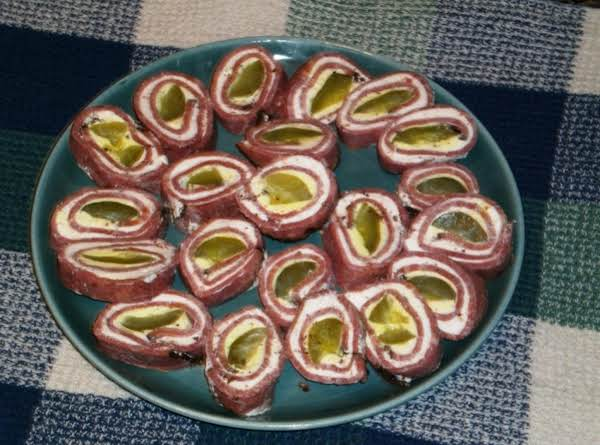 Pickle Roll-ups Recipe