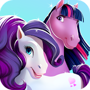 Baby Pony Daycare - Newborn Horse Adventures Game APK for Bluestacks
